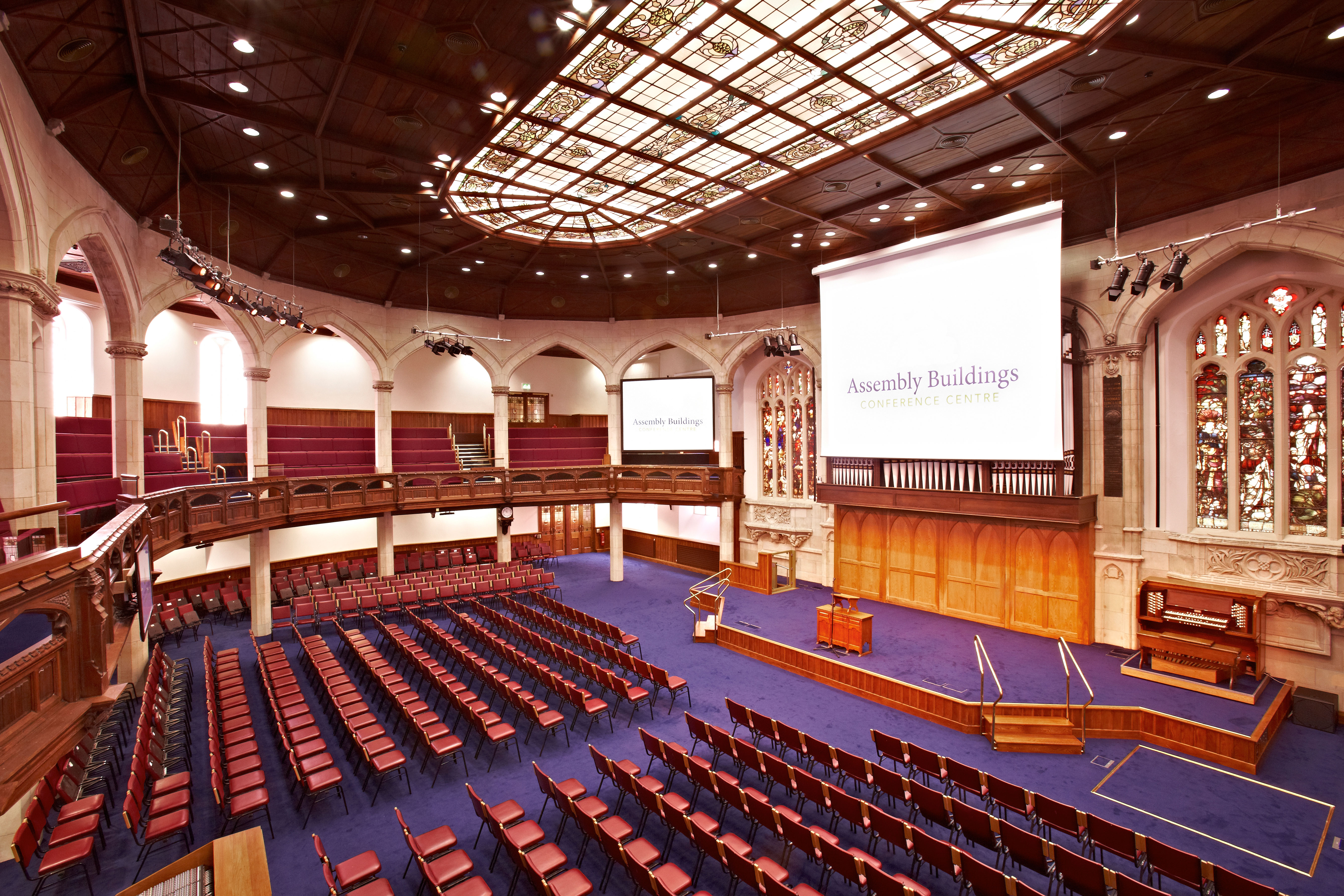 Assembly Hall - the conference room